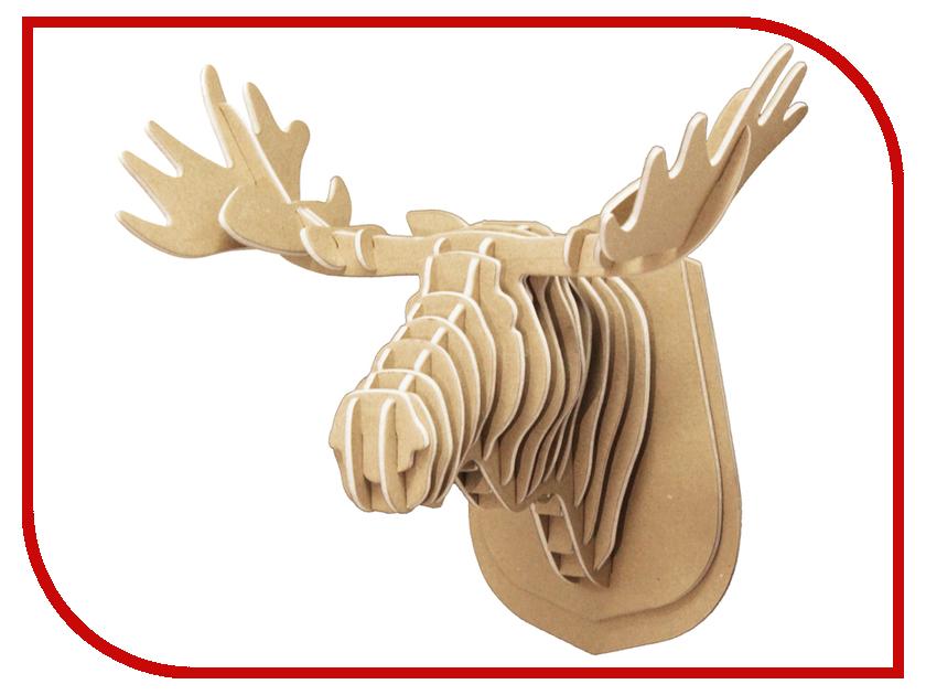 3D-пазл Expetro Голова Лося 10701 3d пазл expetro голова благородного оленя 10640