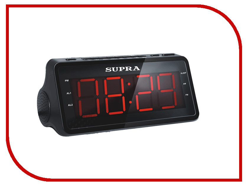 Часы SUPRA SA-46FM радиочасы supra sa 16fm