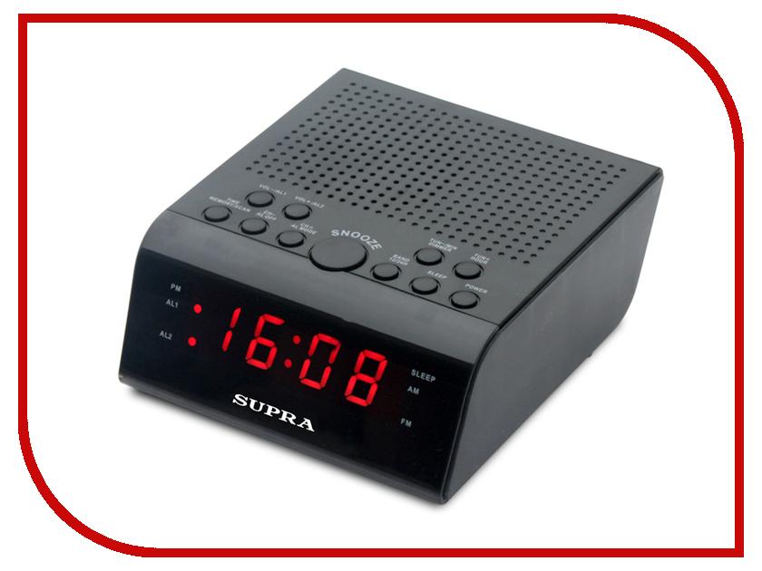 Часы SUPRA SA-44FM радиочасы supra sa 28fm