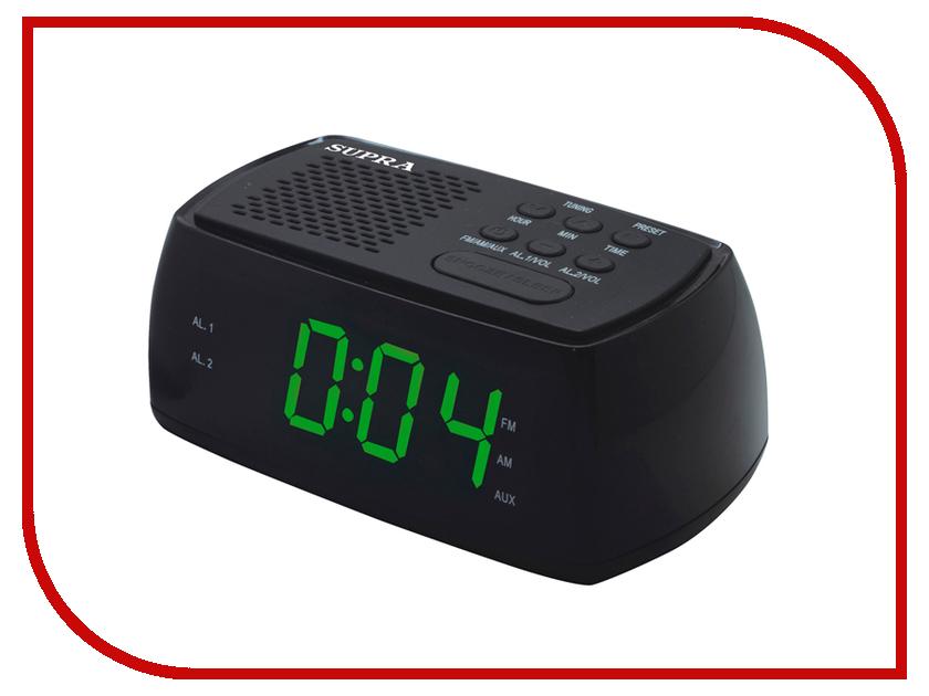 Часы SUPRA SA-45FM радиочасы supra sa 16fm