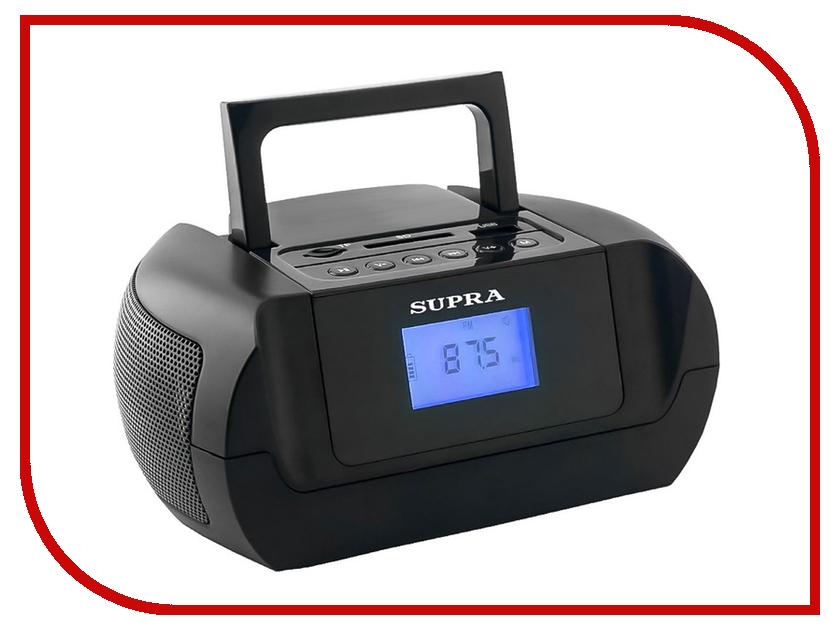 Магнитола SUPRA BB-105UB телефон supra stl 111 белый