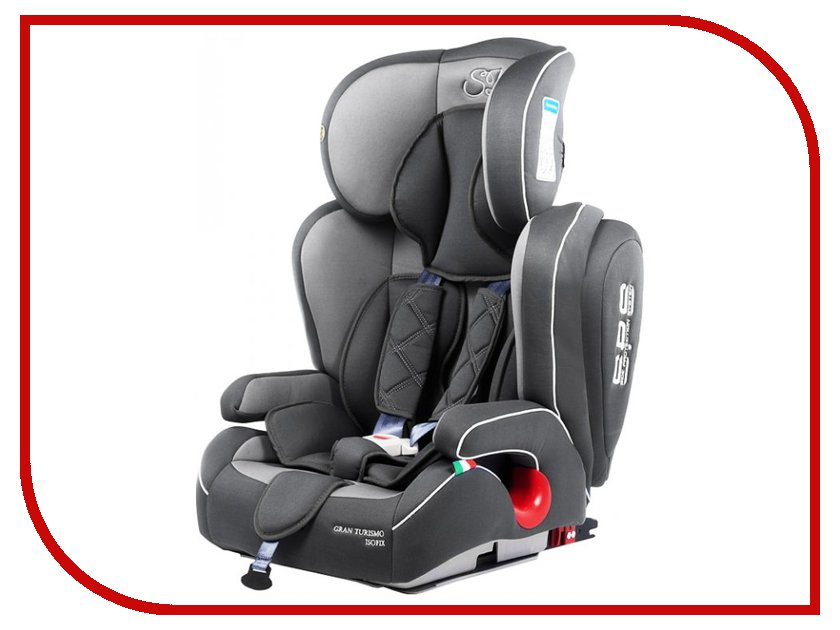Автокресло Sweet Baby Gran Turismo SPS Isofix группа 1/2/3 Grey 8313720420341 прогулочная коляска sweet baby combina tutto сetriolo sweet baby