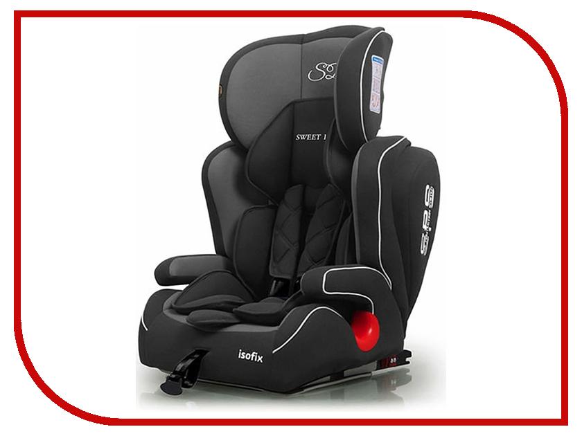 Автокресло Sweet Baby Gran Turismo SPS Isofix группа 1/2/3 Grey-Black 8313720420358 sweet shoes sw010awhsc16