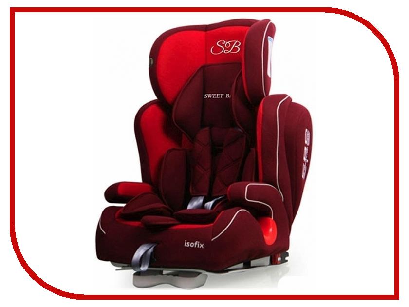 Автокресло Sweet Baby Gran Turismo SPS Isofix группа 1/2/3 Red 8313720420365 прогулочная коляска sweet baby combina tutto сetriolo sweet baby