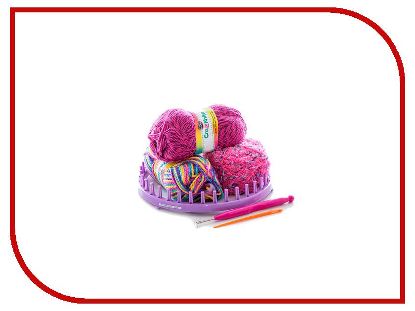 Набор для творчества Cra-Z-Art Cra-Z-Knitz Вязание Стильная Шапка-колпак 17436 крези арт cra z knitz 17436 набор для вязания стильная шапка колпак