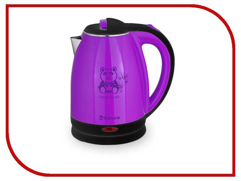 Чайник Sakura SA-2138 Black-Purple чайник sakura sa 2340p