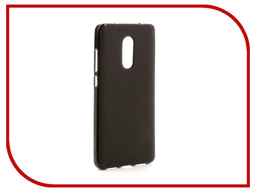 Аксессуар Чехол для Xiaomi Redmi Note 4 / Note 4 Pro Svekla Silicone Black SV-XIREDN4-MBL