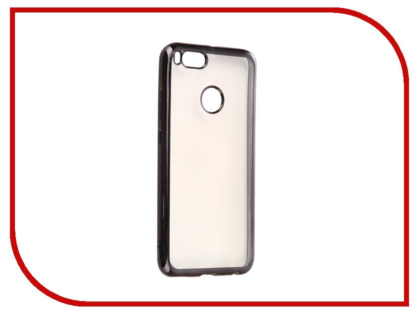 Аксессуар Чехол Xiaomi Mi A1 Svekla Silicone Black SV-XIMIA1-MBL аксессуар чехол xiaomi mi mix 2 svekla silicone transparent sv ximimix2 wh