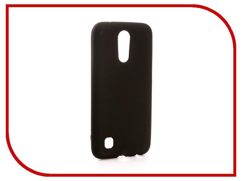Аксессуар Чехол LG K10 2017 M250 Svekla Silicone Black SV-LGM250-MBL аксессуар защитное стекло activ 3d gold для apple iphone 7 69556