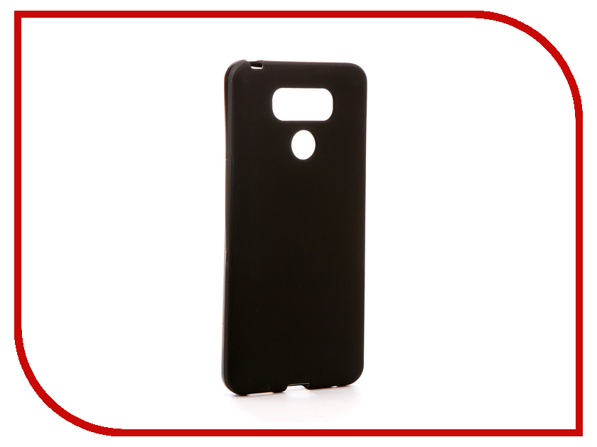Аксессуар Чехол для LG G6 Svekla Silicone Black SV-LGG6-MBL аксессуар чехол для samsung galaxy a5 2017 a520f svekla silicone black sv sga520f mbl