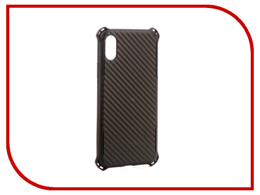Аксессуар Чехол-накладка Smarterra Case Carbon Edition Black для APPLE iPhone X HCCEIPXBK