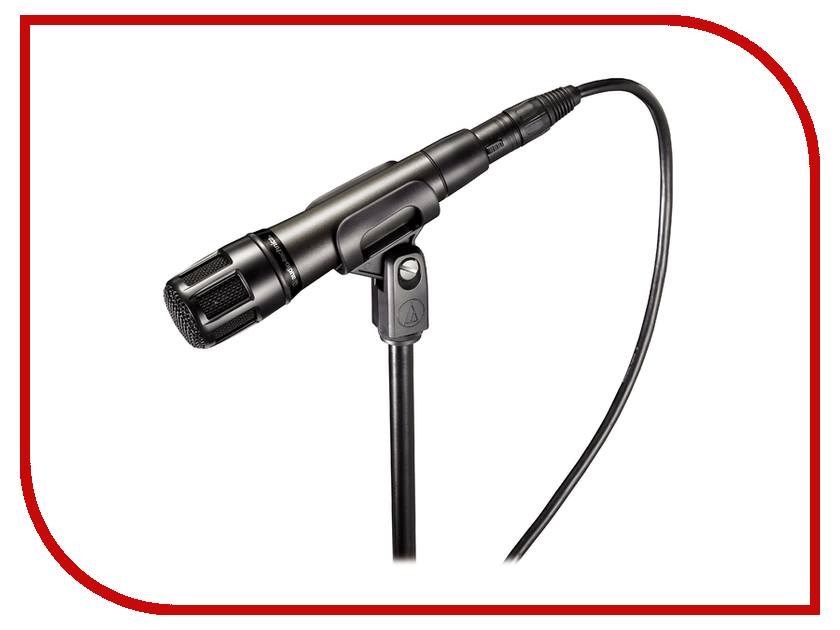 Микрофон Audio-Technica ATM650 technica audio technica головка ath msr7se установлена портативная гарнитура с высоким разрешением качества hifi