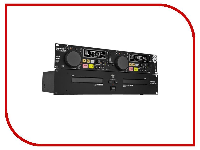 CD-проигрыватель Reloop RMP-2760 USB духовой шкаф 600 rmp античная медь ilve