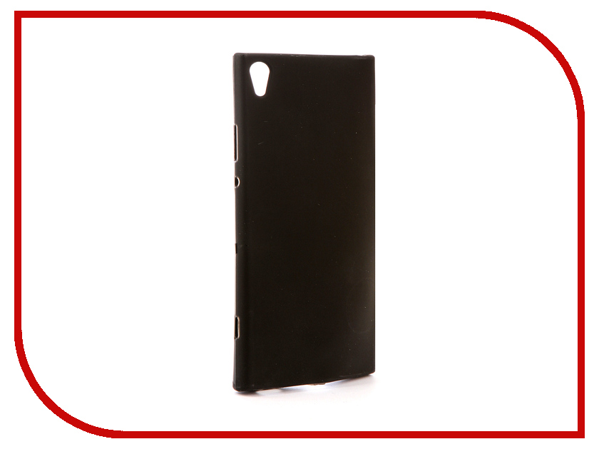 Аксессуар Чехол Sony Xperia XA1 Ultra G3212/G3226 Svekla Silicone Black SV-SOG3212-MBL смартфон sony xperia xa1 ultra dual black g3212