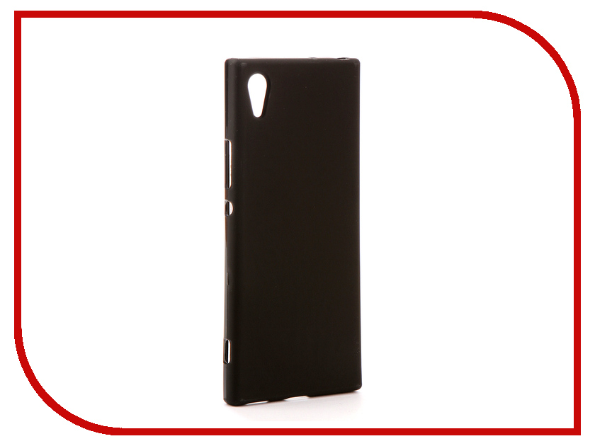 Аксессуар Чехол Sony Xperia XA1 G3121/G3123/G3125 Svekla Silicone Black SV-SOG3121-MBL смартфон sony xperia xa1 ultra dual