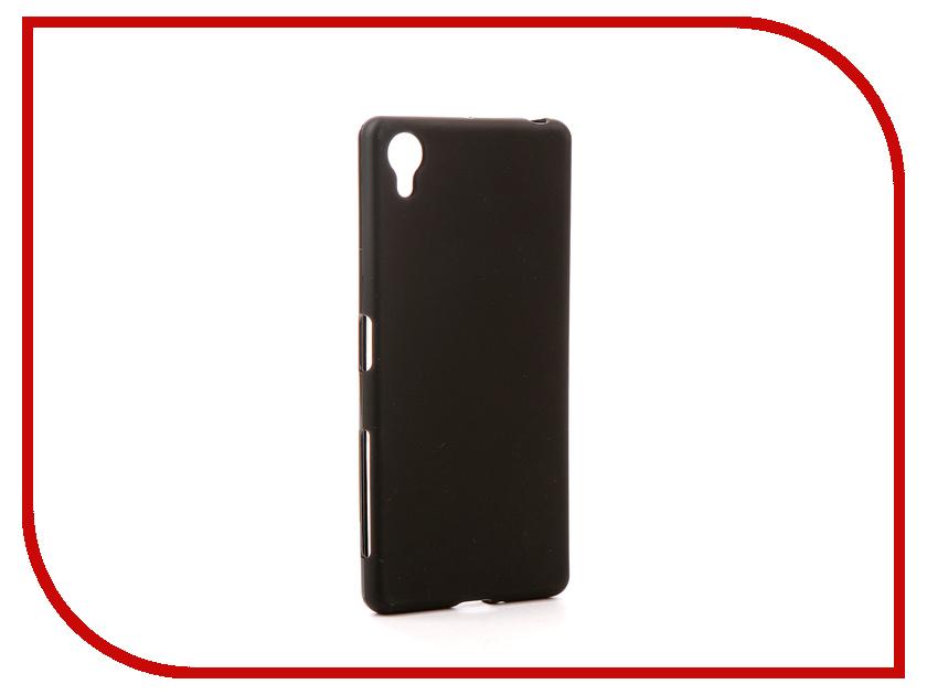 Аксессуар Чехол для Sony Xperia X/X Performance F5121/F5122/F8131/F8132 Svekla Silicone Black SV-SOF5122-MBL sony f5121 xperia x black