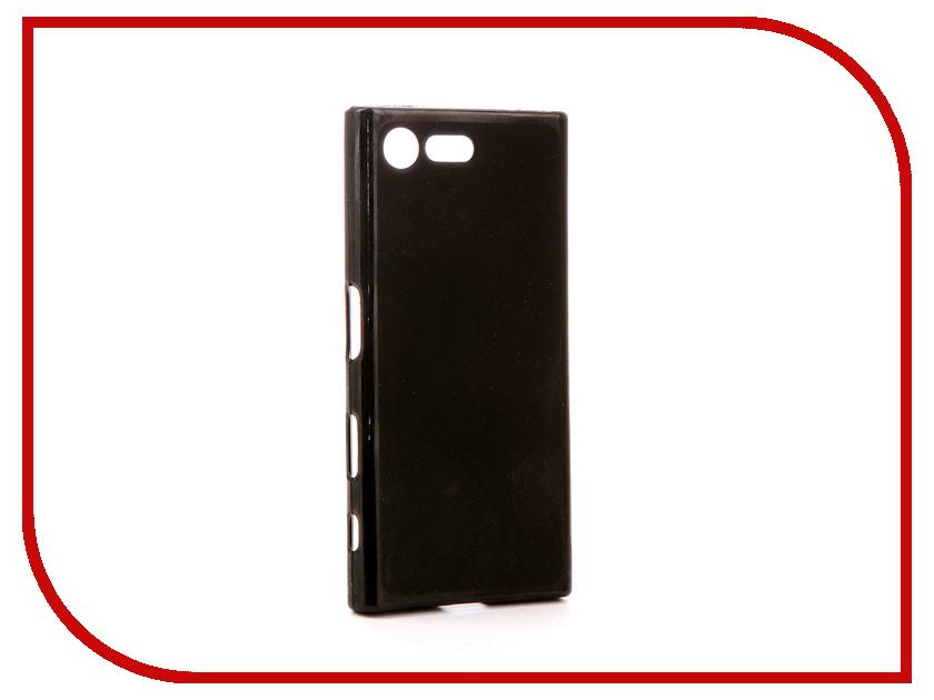 Аксессуар Чехол Sony Xperia X Compact F5321 Svekla Silicone Black SV-SOF5321-MBL сотовый телефон sony f5321 xperia x compact black