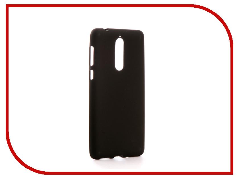 Аксессуар Чехол Nokia 8 Svekla Silicone Black SV-NO8-MBL stika sv 8