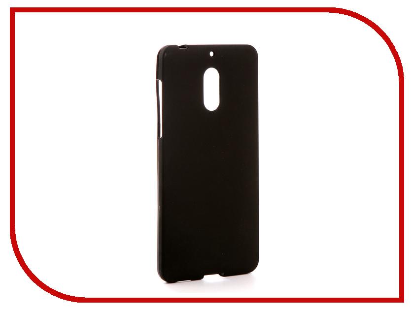 Аксессуар Чехол для Nokia 6 Svekla Silicone Black SV-NO6-MBL цена