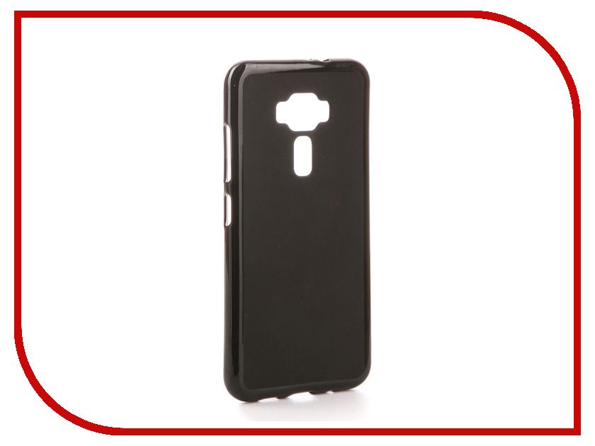 Аксессуар Чехол для ASUS ZenFone 3 ZE520KL Svekla Silicone Black SV-ASZE520KL-MBL