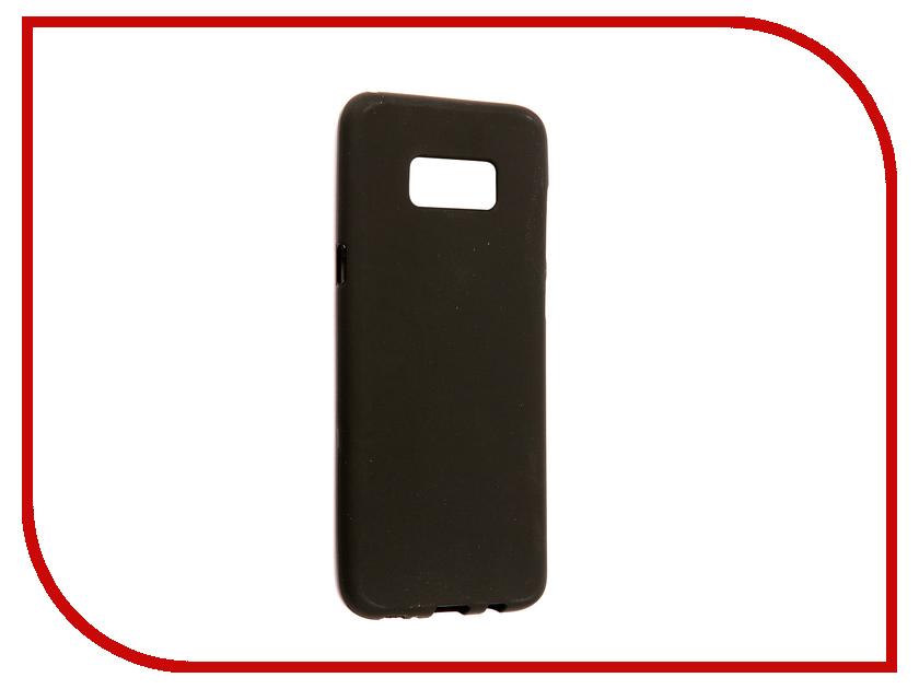 Аксессуар Чехол Samsung Galaxy S8 Plus G955A Svekla Silicone Black SV-SGG955A-MBL sportsart a 955