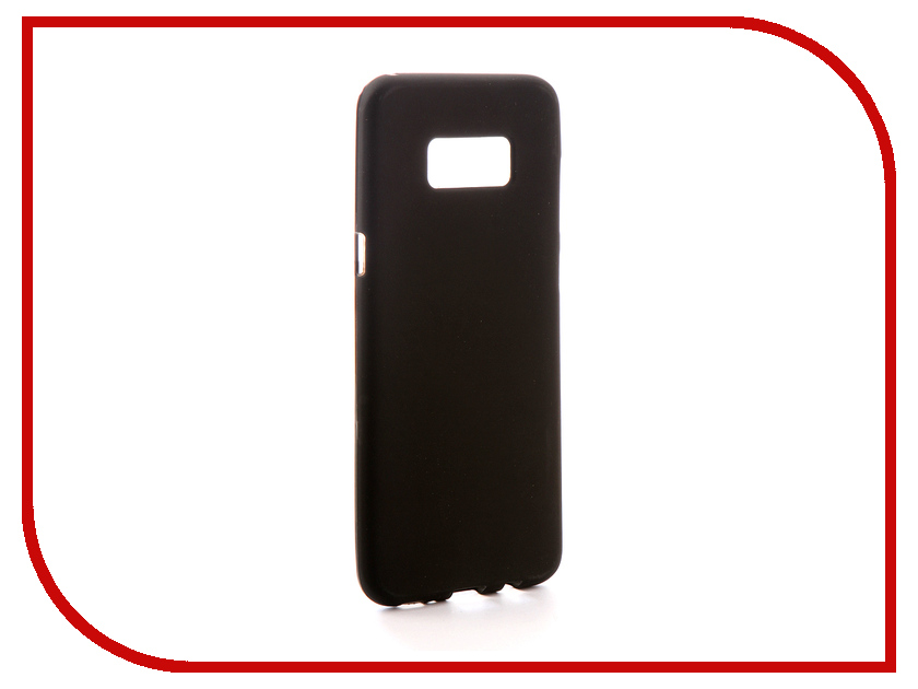 Аксессуар Чехол Samsung Galaxy S8 G950F Svekla Silicone Black SV-SGG950F-MBL аксессуар чехол asus zenfone 3 max zc553kl svekla silicone black sv aszc553kl mbl