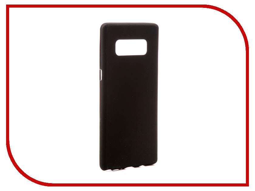 Аксессуар Чехол Samsung Galaxy Note 8 N950F Svekla Silicone Black SV-SGN950F-MBL