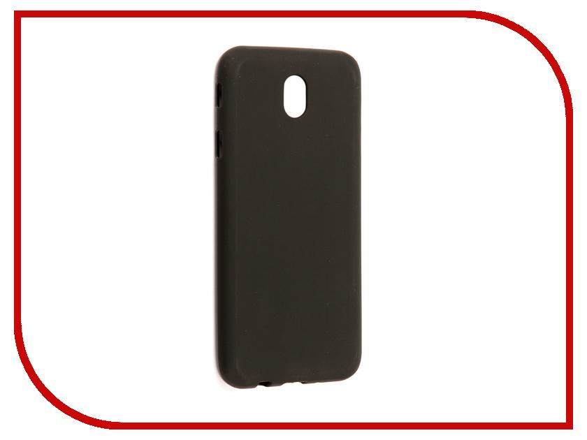Аксессуар Чехол Samsung Galaxy J7 2017 J730F Svekla Silicone Black SV-SGJ730F-MBL аксессуар чехол asus zenfone 3 max zc553kl svekla silicone black sv aszc553kl mbl