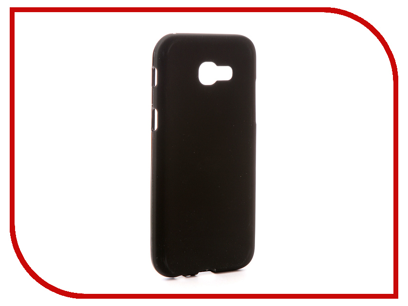 Аксессуар Чехол для Samsung Galaxy A5 2017 A520F Svekla Silicone Black SV-SGA520F-MBL аксессуар чехол для samsung galaxy a5 2017 a520f svekla silicone black sv sga520f mbl