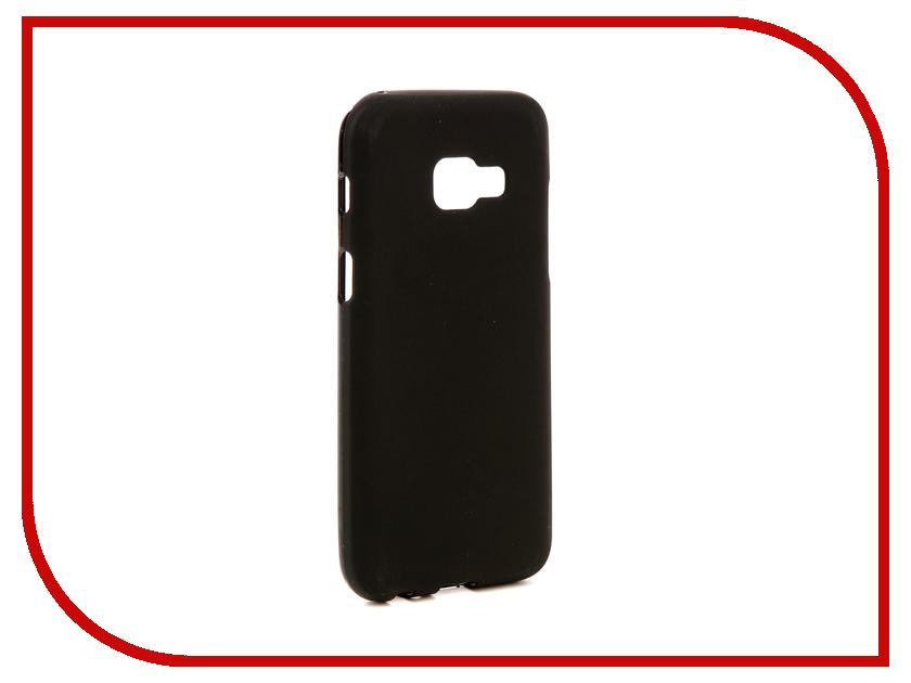 Аксессуар Чехол для Samsung Galaxy A3 2017 A320F Svekla Silicone Black SV-SGA320F-MBL аксессуар чехол для samsung galaxy a5 2017 a520f svekla silicone black sv sga520f mbl