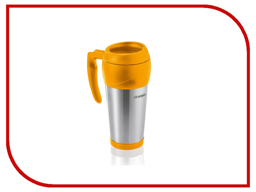 Термокружка Leifheit Lim.Edition 500ml Steel-Yellow 25783