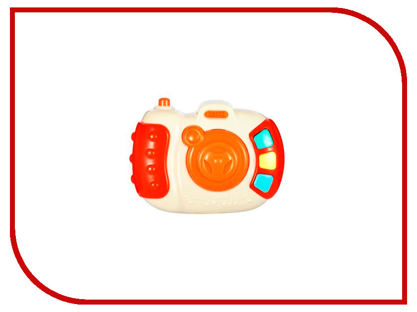 Игрушка Жирафики Фотоаппарат 939494 жирафики игрушка мягкая жираф жирафики