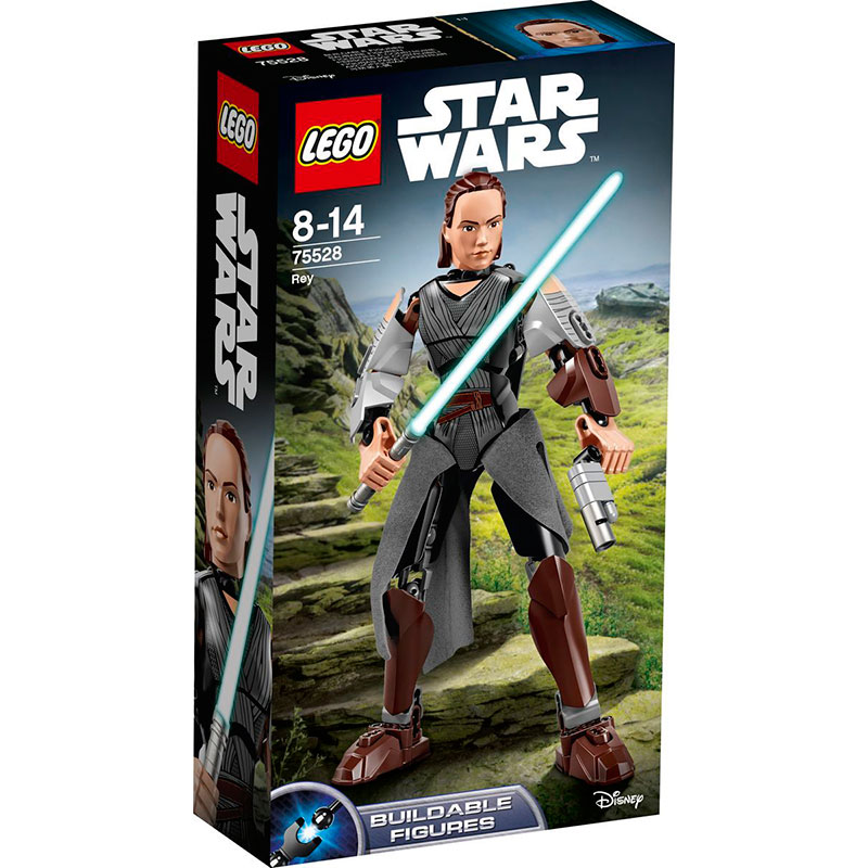 Конструктор Lego Construction Star Wars Рей 75528