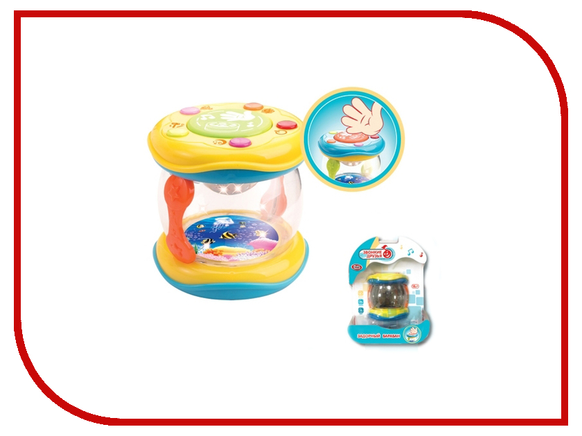 Игрушка Play Smart Барабан A236-H05038 just play just play мягкая игрушка собачка кэнди и ее щенки