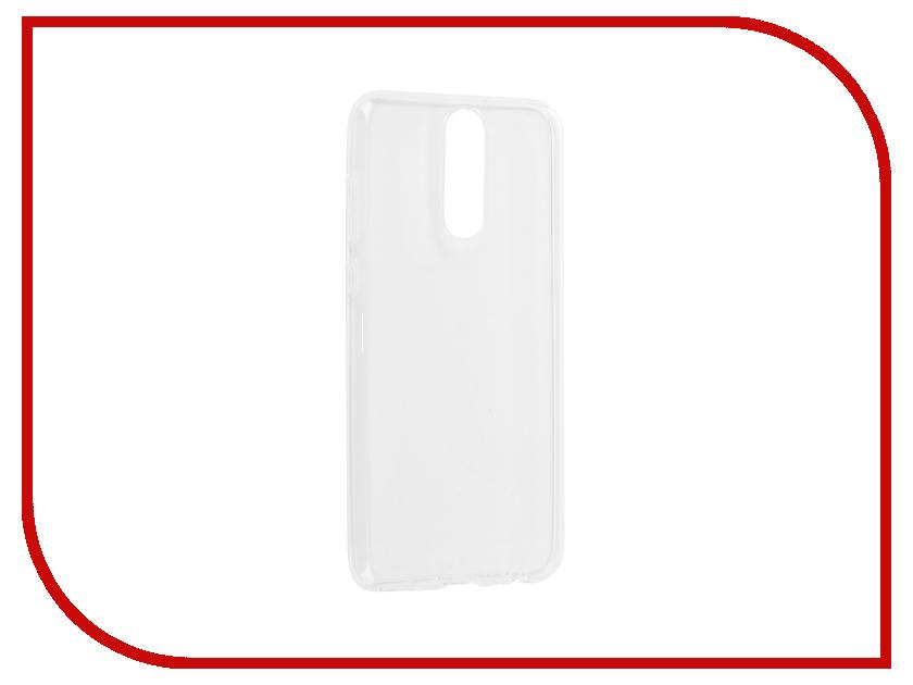 Аксессуар Чехол для Huawei Nova 2i Svekla Silicone Transparent SV-HWNOVA2i-WH аксессуар чехол huawei y3 ii svekla silicone transparent sv hwy3ii wh