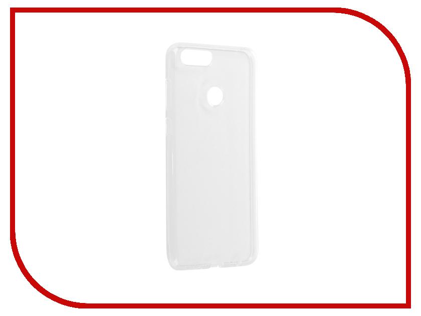 Аксессуар Чехол для Huawei Honor 7X Svekla Silicone Transparent SV-HWH7X-WH аксессуар чехол huawei y3 ii svekla silicone transparent sv hwy3ii wh