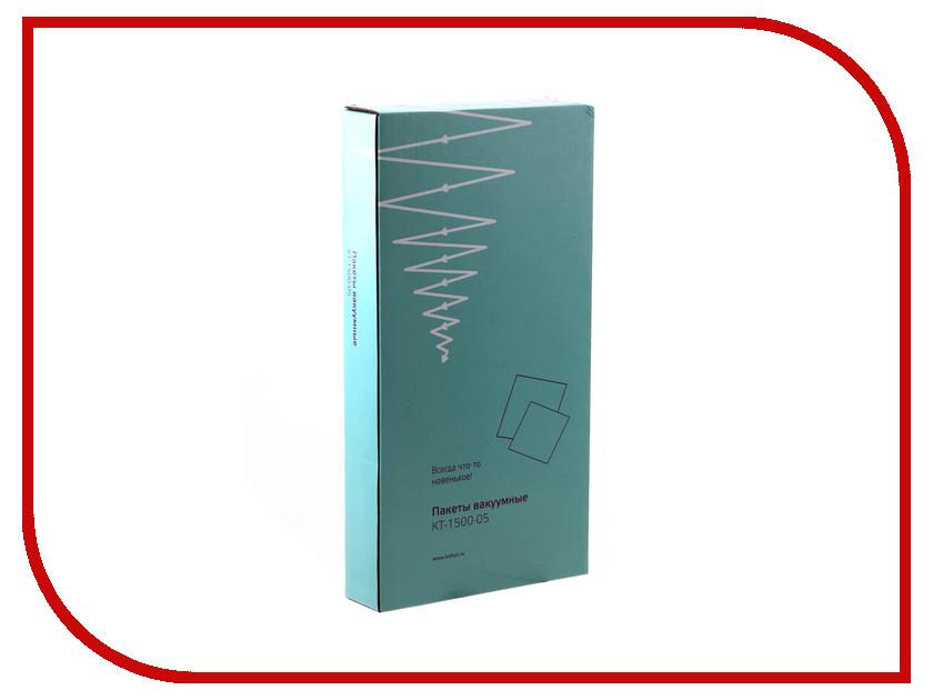 Вакуумные пакеты Kitfort KT-1500-05 пакет kitfort kt 1500 05 для вакуумной упаковки