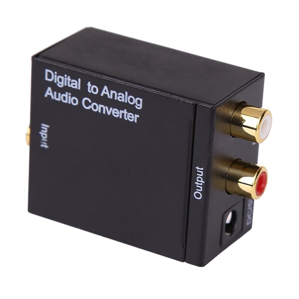 Цифровой конвертер Espada Toslink+RCA Coaxil to 2xRCA Analog EDH-TR/R 42585