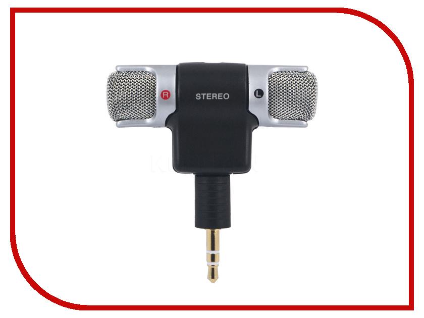 Микрофон Espada 3.5mm Jack ESP-MIC1 for motherboard db25 1 port serial parallel pci slot header cable bracket