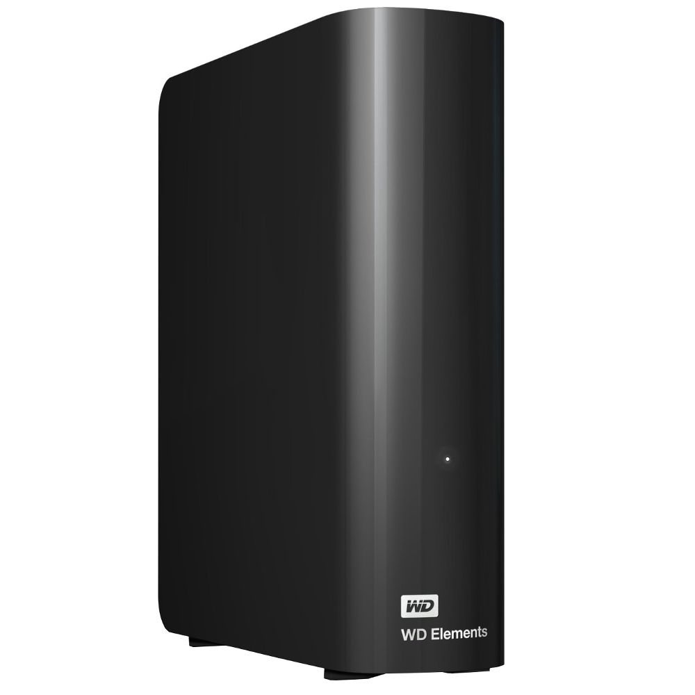 Жесткий диск Western Digital Elements Desktop 6Tb USB 3.0 Black WDBWLG0060HBK