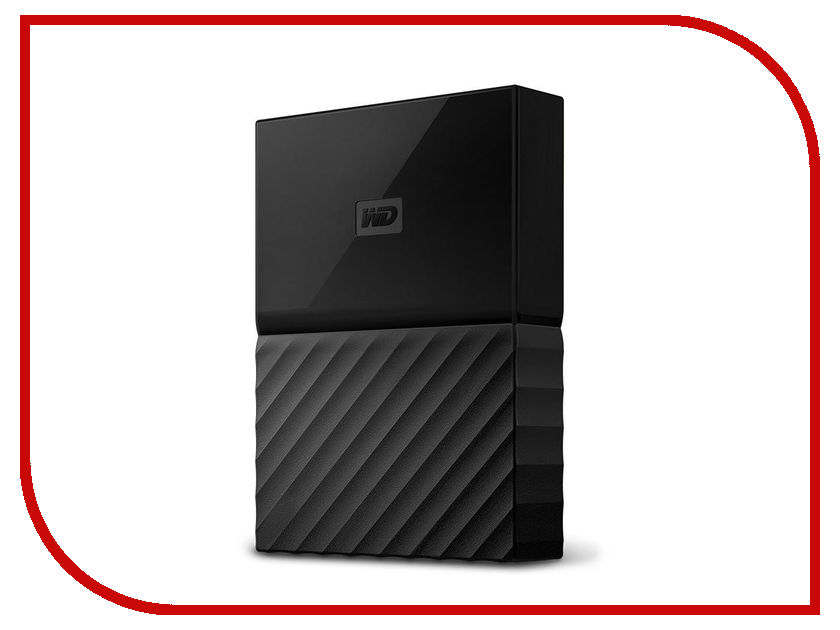 Фото Жесткий диск Western Digital My Passport 2Tb WDBZGE0020BBK-WESN