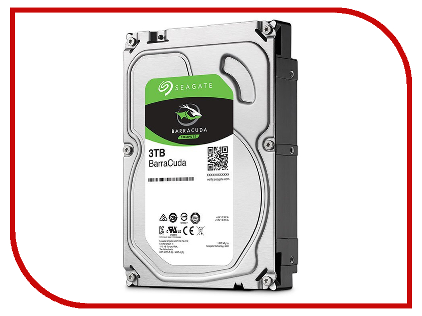 Жесткий диск 3Tb - Seagate Barracuda ST3000DM007