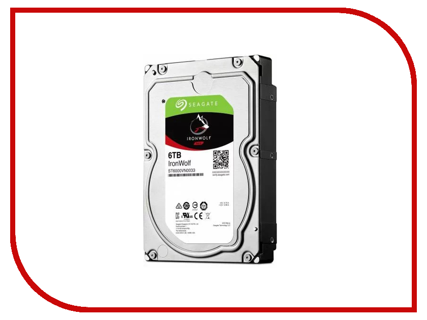 купить Жесткий диск 6Tb - Seagate IronWolf ST6000VN0033 недорого
