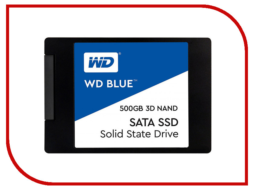 Жесткий диск 500Gb - Western Digital WDS500G2B0A bob sinclar a western video story