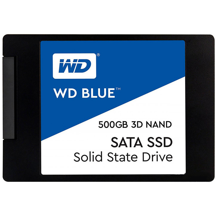 Жесткий диск 500Gb - Western Digital WDS500G2B0A жесткий диск 500gb western digital wd5003azex caviar black