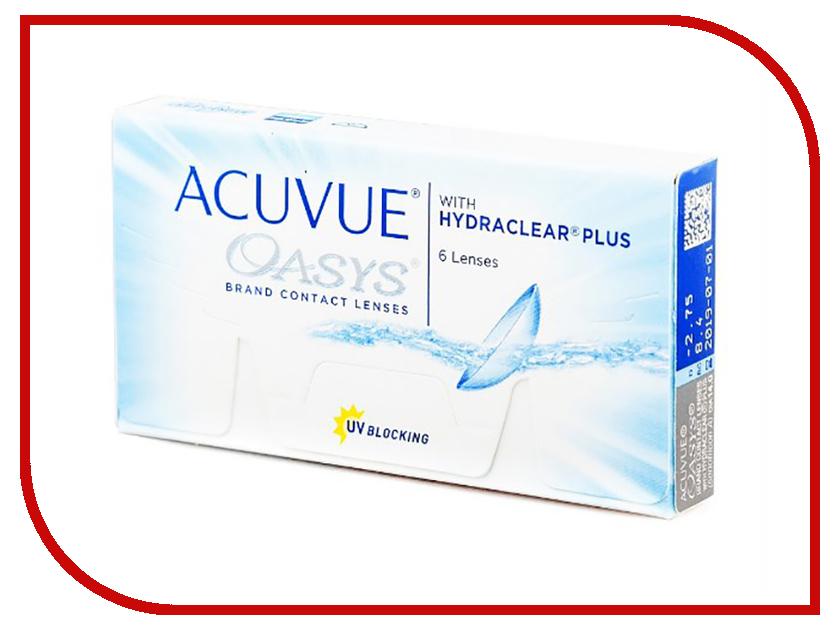 Контактные линзы Johnson & Acuvue Oasys with Hydraclear Plus (6 линз / 8.4 -2.75)
