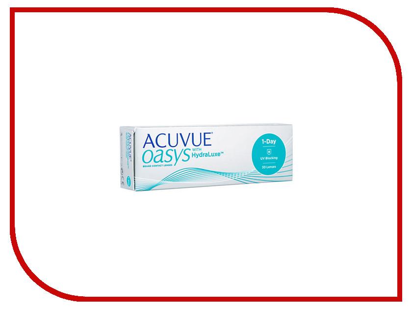 Контактные линзы Johnson & Johnson 1-Day Acuvue Oasys with HydraLuxe (30 линз / 8.5 / -3.5) контактные линзы johnson