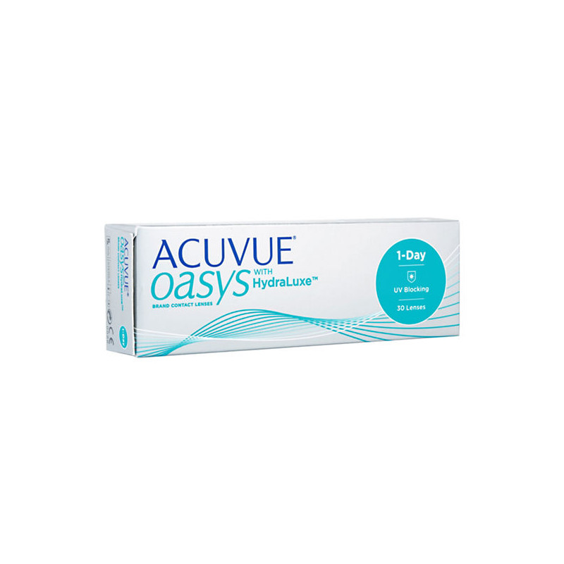 Контактные линзы Johnson & 1-Day Acuvue Oasys with HydraLuxe (30 линз / 8.5 -3.75)