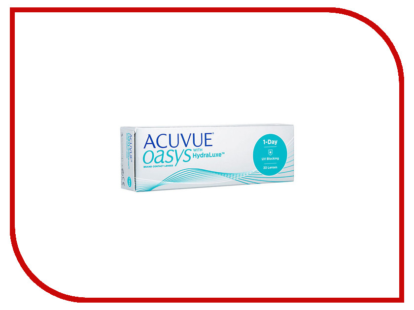 Контактные линзы Johnson & Johnson 1-Day Acuvue Oasys with HydraLuxe (30 линз / 8.5 / -5) контактные линзы johnson & johnson 1 day acuvue moist 90 линз 8 5 4 25