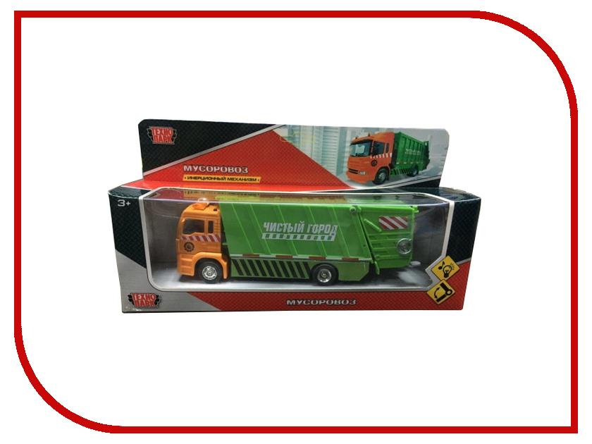 Игрушка Технопарк Мусоровоз 1023S-R игрушка технопарк зил 130 бензовоз x600 h09131 r